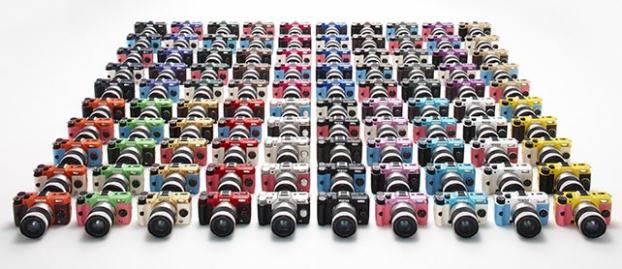 Festival de couleurs pour le Pentax Q10