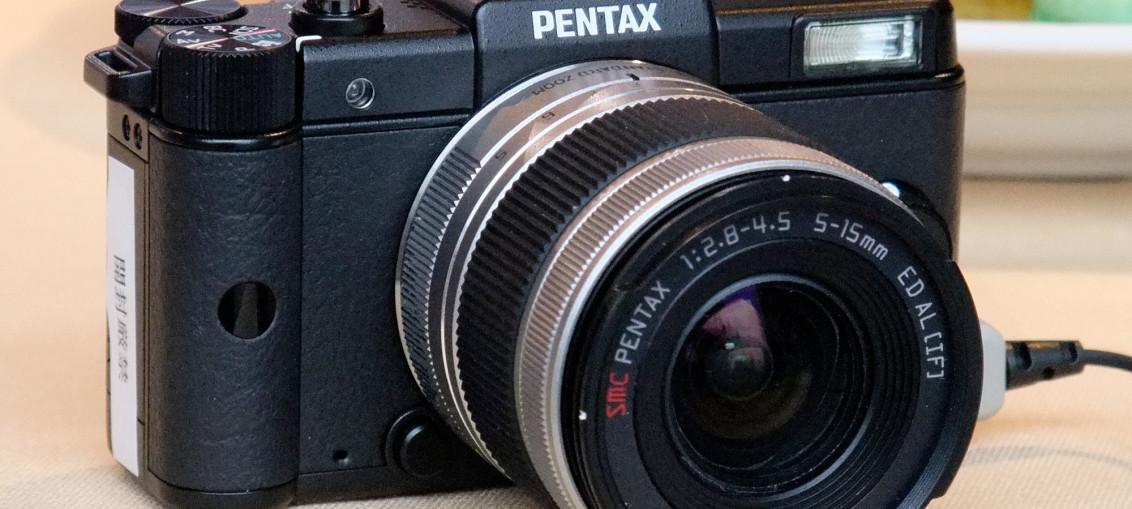 Le Pentax Q, disponible chez Colette