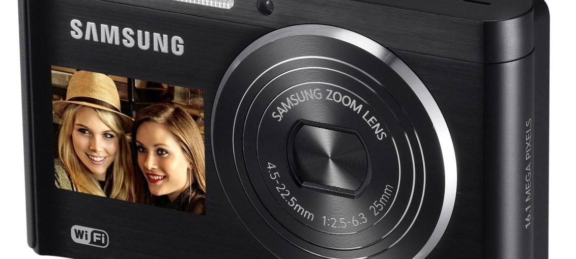 Samsung lance le DV300F, le nouveau compact double écran Wi-Fi